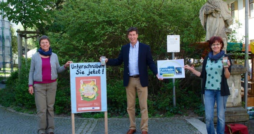 Klaus King und Bergith Hornbacher-Burgstaller Lieferkettengesetz
