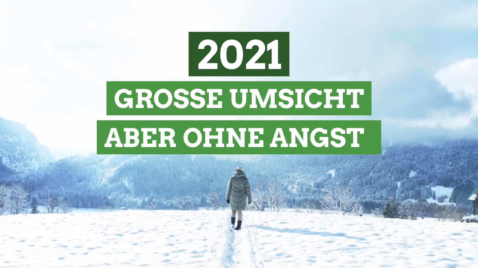 2020 war alles anders – Grüner Neujahrsgruß