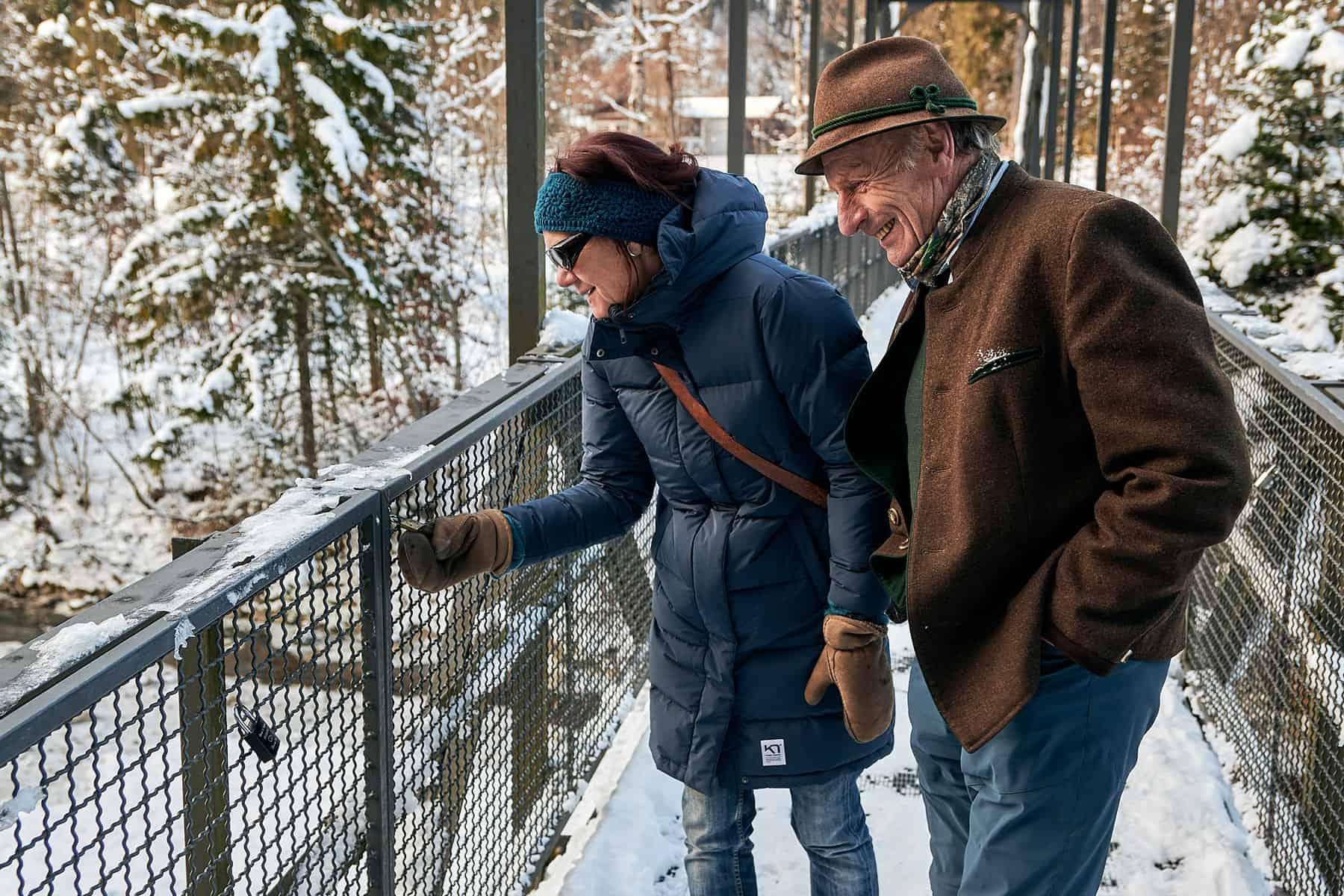 Oberstdorfer Grüne für den Erhalt der Breitachbrücke bei Tiefenbach