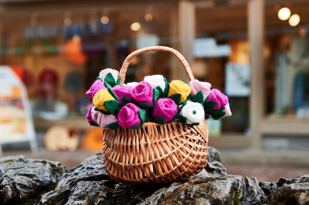 Blumen aus dem Weltladen
