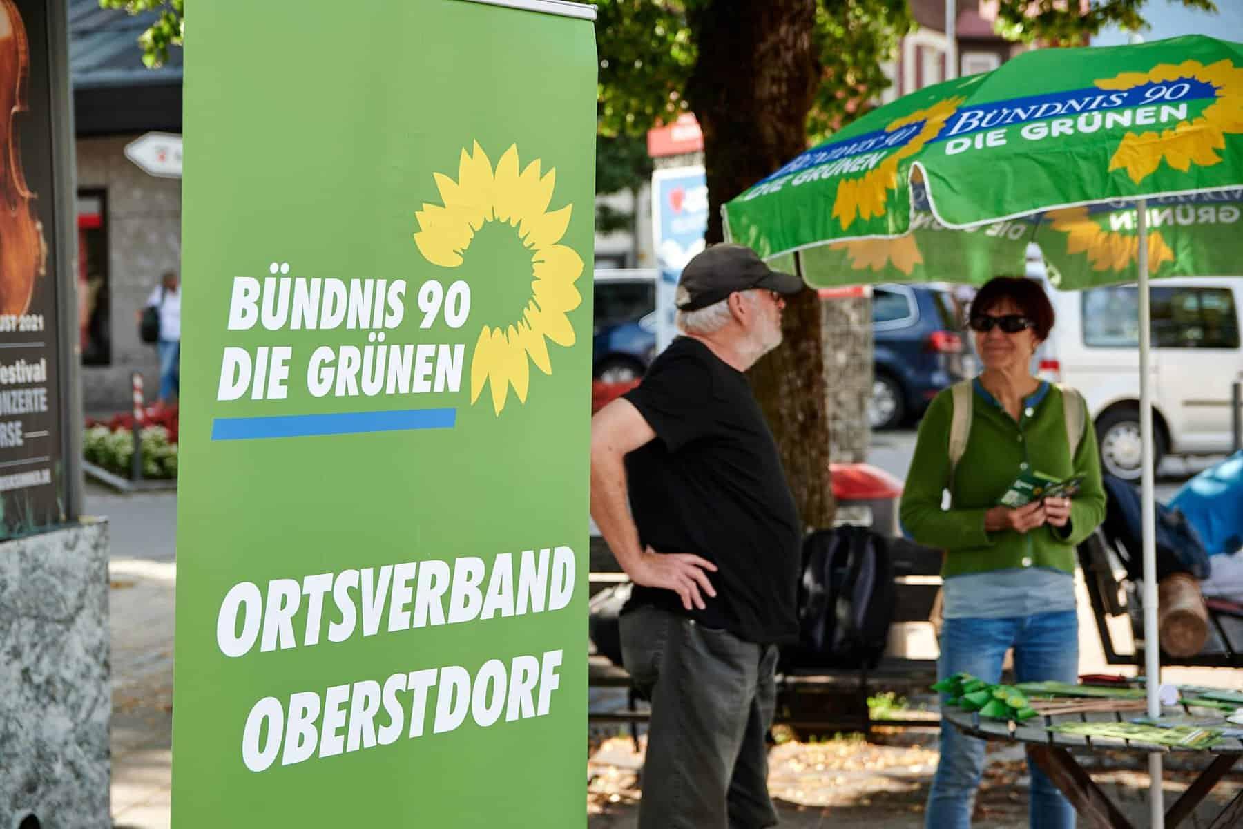 Infostände zur Bundestagswahl